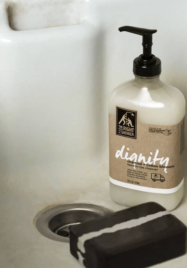 Soap in the bath tub