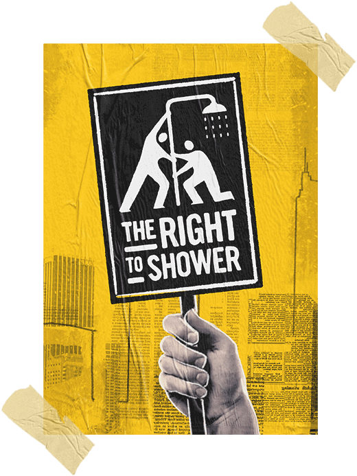 The Right To Shower poster