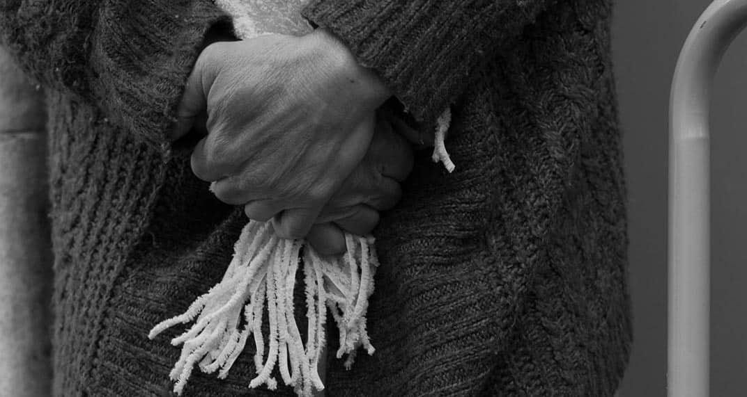homeless hand