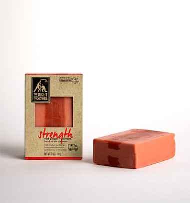 Strength soap bar