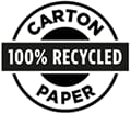 CERTIFIED 100% RECYCLED PAPER