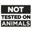 not tested on animal